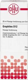 DHU Graphites D12 Dilution, 20ml