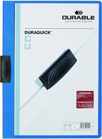 Durable Duraquick Klemm-Mappe A4, blau (227006)