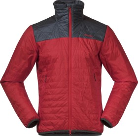 Bergans Røros Light Insulated Jacke red sand/solid dark grey (Herren) (7676-13572)