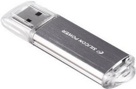 Silicon Power Ultima II I-Series silber 16GB, USB-A 2.0 3er-Pack (SP048GBUF2M01VCM)