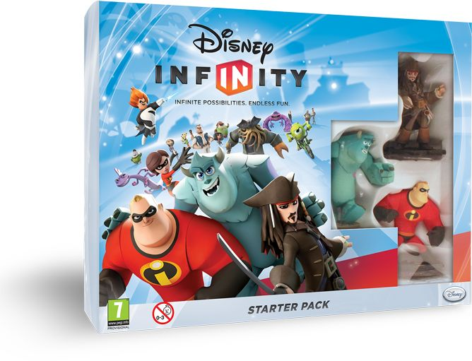 Disney Infinity - Starter pack (English) (Xbox 360)