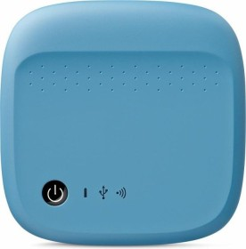 Seagate Wireless Mobile Storage blau 500GB, USB 2.0 Micro-B/WLAN (STDC500400)