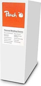 Peach Thermobindemappe A4, 150µm, weiß matt, 15 Blatt, 100 Stück (PBT406-02)