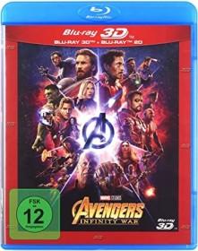 Avengers: Infinity War (3D) (Blu-ray)