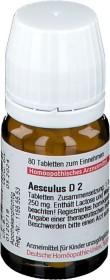 DHU Aesculus D2 Tabletten, 80 Stück