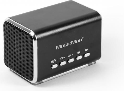 Technaxx MusicMan Midi schwarz (3556)