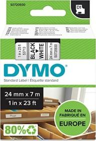 Dymo D1 labelling tape 24mm, black/white (53713 / S0720930)