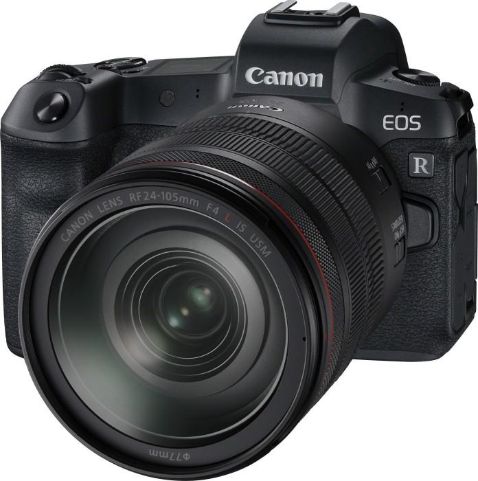 Canon EOS R schwarz mit Objektiv RF 24-105mm 4.0 L IS USM (3075C058)