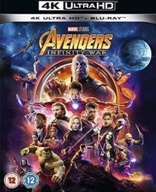 Avengers: Infinity War (4K Ultra HD) (UK)