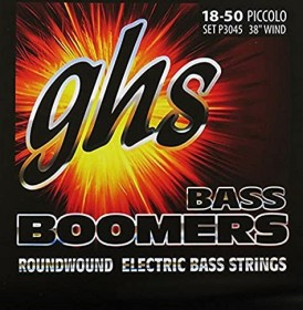 GHS Extra Long Scale Bass Boomers Piccolo (L3045X)