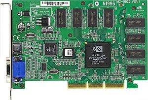 MSI MS-8826 V2.0 Pro-TC64S, GeForce2 MX/400, 64MB, AGP, TV-out, bulk