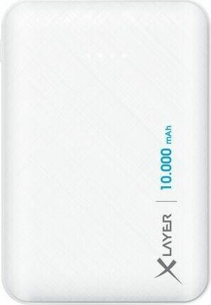 XLayer Powerbank Micro 10000mAh weiß (217285)