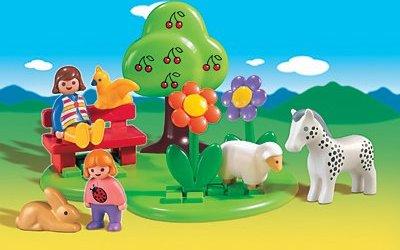 playmobil - 1.2.3 - Sommerwiese mit Tieren (6757) -- via Amazon Partnerprogramm