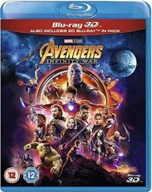 Avengers: Infinity War (3D) (Blu-ray) (UK)