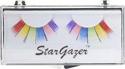 Stargazer Wimpern No.9 bunt-regenbogenfarben, 2er-Pack (SGS123-9) -- via Amazon Partnerprogramm