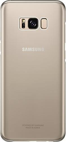 Samsung Clear Cover für Galaxy S8+ gold (EF-QG955CFEGWW)
