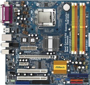 ASRock 2Core1333DVI-2.66G & E2140 Bundle