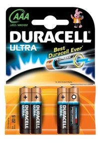 Duracell Ultra M3 Micro AAA, 4-pack (MN2400)