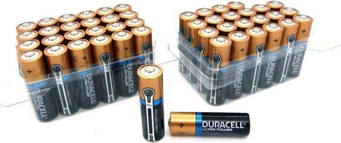 Duracell Ultra M3 LR6-AA, Alkali, 1.5V, 4er-Pack (MN1500) -- via Amazon Partnerprogramm