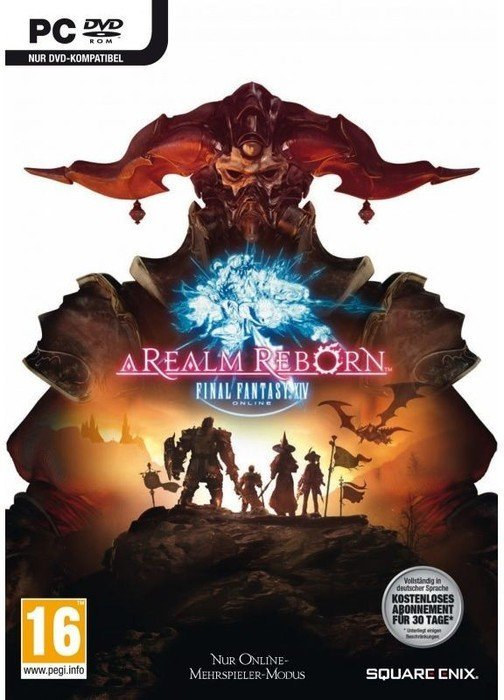 Final Fantasy XIV: A Realm Reborn (MMOG) (English) (PC)
