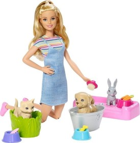 Mattel Barbie Plan'n'Wash Pets (FXH11)