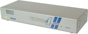 Digitus DC DS-814F DVI splitter 4-port