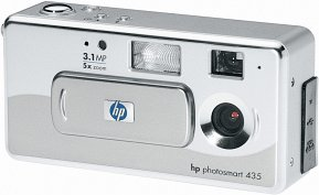 HP Photosmart 435 digital camera with Photosmart 7260 Photo Printers (Y1444A)