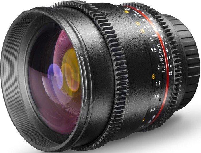 Walimex Pro 85mm 1.5 VCSC für Canon EF-M schwarz (20126)