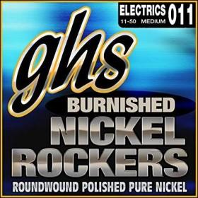 GHS Burnished Nickel Rockers Medium (BNR-M)