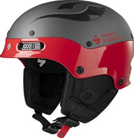 Sweet Protection Trooper II SL MIPS Helm gloss fiery red (840060-GFRED)