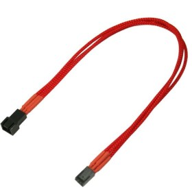 Nanoxia 3-Pin extension 30cm, separate sleeved red (NX3PV3ER)