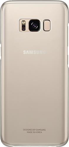 Samsung clear Cover for Galaxy S8 gold (EF-QG950CFEGWW)