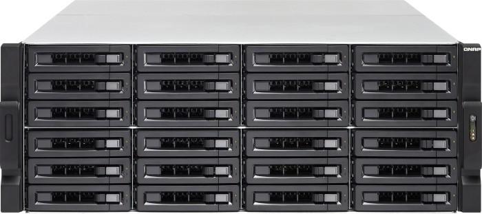 QNAP Turbo Station TS-2477XU-RP-2700-16G 144TB, 16GB RAM, 2x 10Gb SFP+, 4x Gb LAN, 4HE