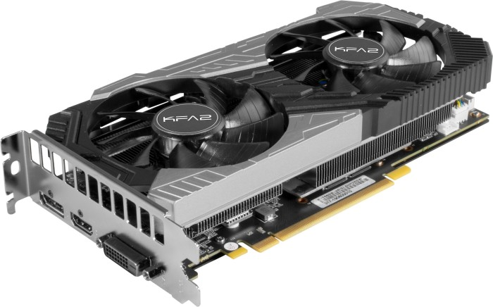 KFA2 GeForce RTX 2060 SUPER [1-click OC], 8GB GDDR6, DVI, HDMI, DP (26ISL6HP39SK)