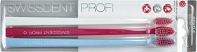 Swissdent professional Gentle toothbrush Trio-pack white/pink/light blue, extra-soft