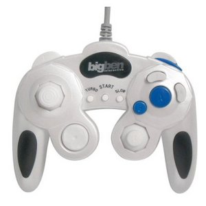 BigBen Controller Pearl White (Wii/GC) (BB250763)