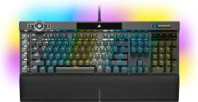 Corsair Gaming K100 RGB, MX SPEED RGB Silver, USB, DE (CH-912A014-DE)