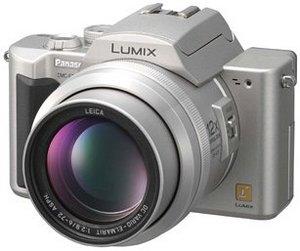 Panasonic Lumix DMC-FZ10 silber (verschiedene Bundles)