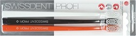Swissdent professional Gentle toothbrush Trio-pack white/black/orange, extra-soft