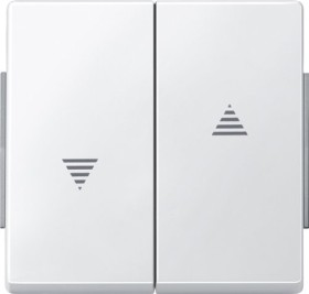 Merten Aquadesign Wippe, polarweiß (343419)