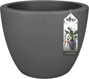 Elho Pure Soft Round Wheels Blumentopf 60cm anthrazit