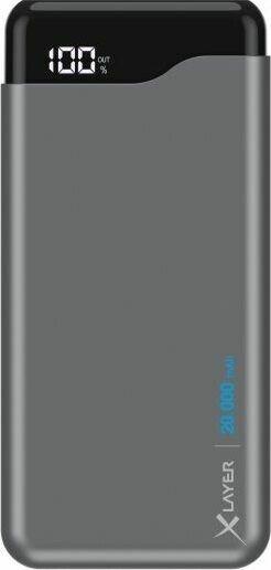 XLayer Powerbank Micro Pro 20000mAh space grey (217289)