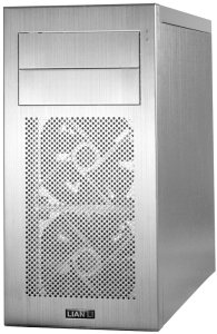 Lian Li PC-A04A silver, noise-insulated
