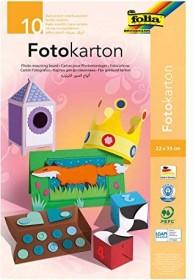 Folia Fotokartonblock 220x330mm colour sorted, 300g/m², 10 sheets (606)
