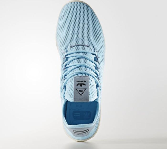 9ea39e18f7528 adidas Pharrell Williams tennis HU ice blue tactile blue (CP9764 ...