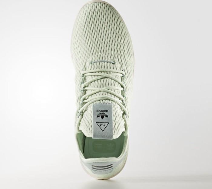 8e6750c5c adidas Pharrell Williams tennis HU linen green tactile green (CP9765 ...
