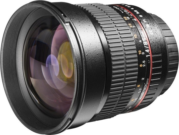 Walimex Pro 85mm 1.4 CSC für Sony E schwarz (20123)