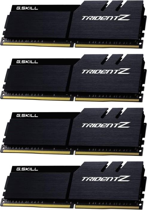 G.Skill Trident Z schwarz/schwarz DIMM Kit 32GB, DDR4-3600, CL16-16-16-36 (F4-3600C16Q-32GTZKK)