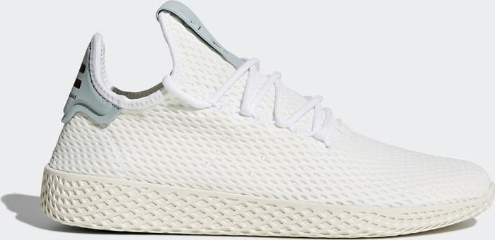c638093ad adidas Pharrell Williams tennis HU white tactile green (BY8716 ...