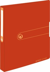 Herlitz easy orga to go green Recycling Ringhefter 2-Ring A4, 25mm, orange (11282712)